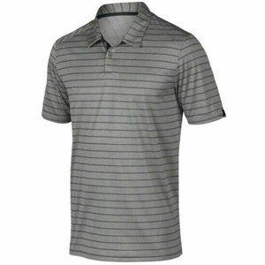 Oakley Breathable Stripe Grey Golf Polo